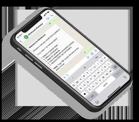WhatsApp offering