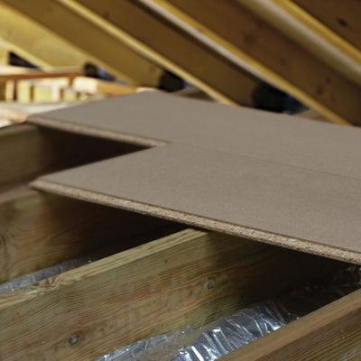Chipboard loft panels