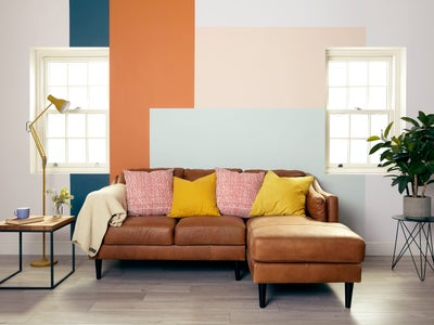 Add colour to a lounge