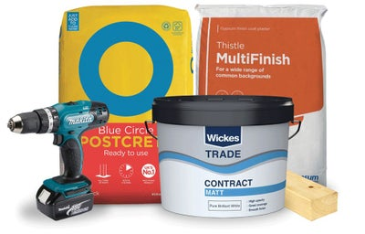 Sign up to Wickes TradePro for benefits including: