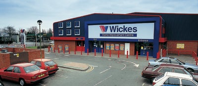 Wickes store entrance