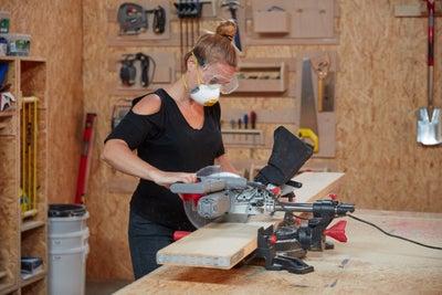 Cut your scaffold boards