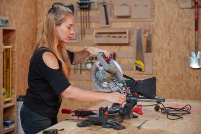 Set up your chop saw
