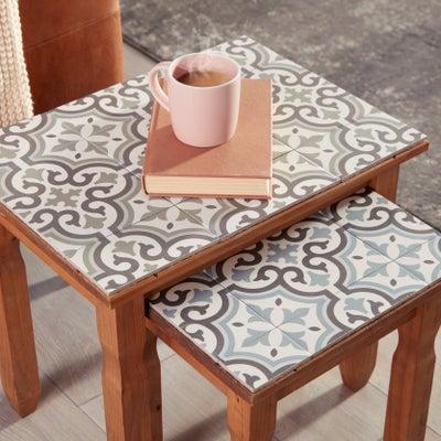 Leftover tiles