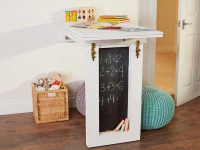 Drop down table in playroom