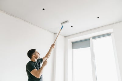 Paint your ceiling first
