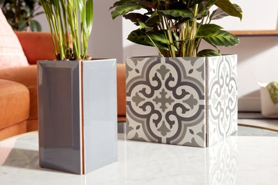 Tiled planters