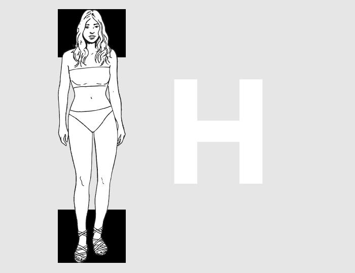 Forme morphologique H
