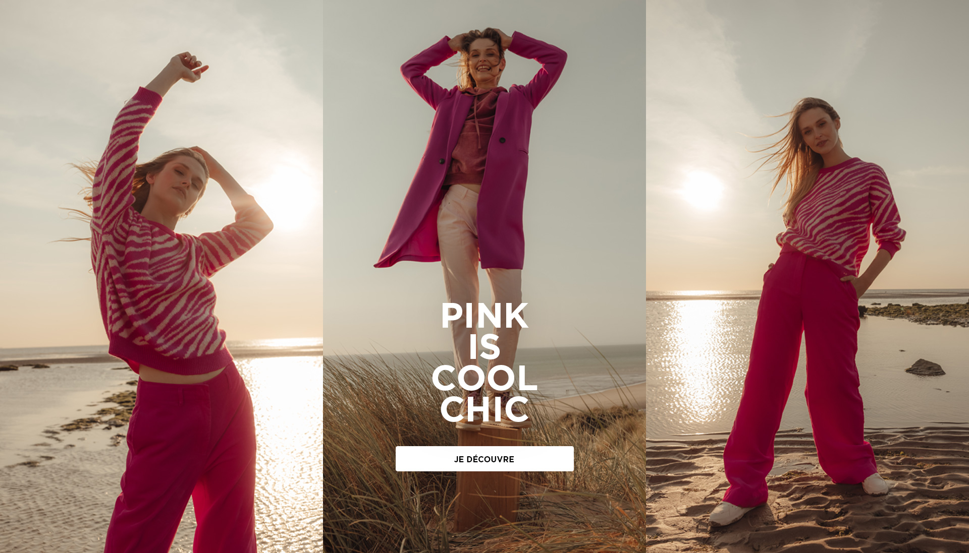 Pink is cool chic