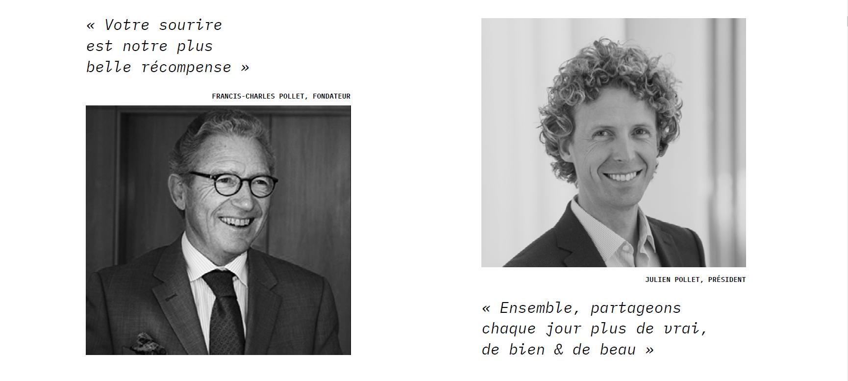Francis-Charles et Julien Pollet