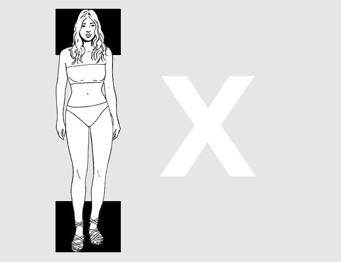 Forme morphologique X