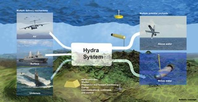 Hydra undersea network