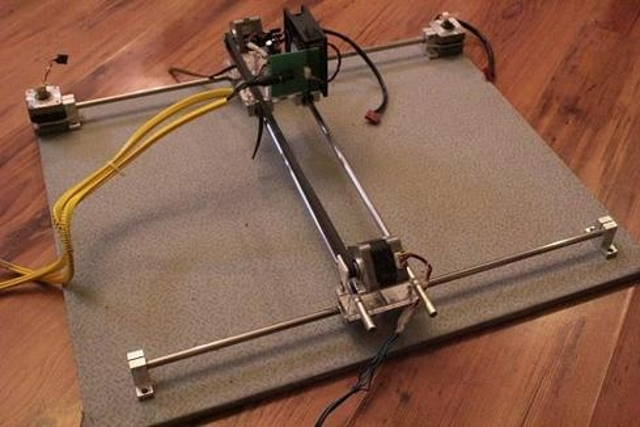 DIY Augmented Reality Laser Cutter