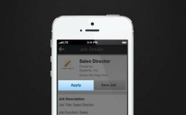 4. Search and apply for jobs on the go.