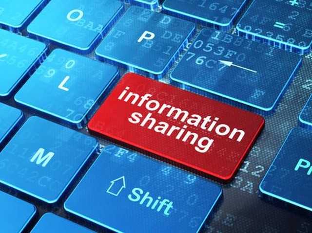 Start the information-sharing process