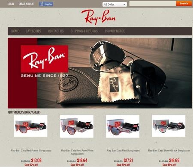 Ray-Ban 80% Discount Sale