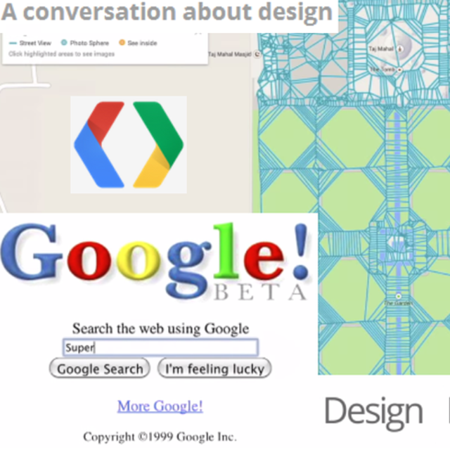Focus on designLest we forget, Google I/O is a software developers' conference, and Google has made it clear that this year's