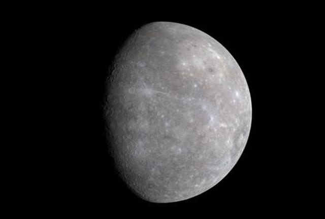 Mercury Shows Its Very Subtle Colors