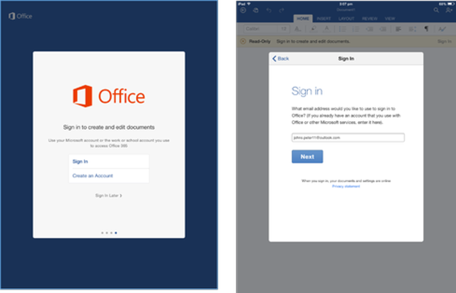 Free Microsoft Account Sign-In