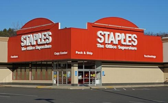 A small number of Staples stores in Pennsylvania, New York City, and New Jersey reportedly were affected by a payment card br