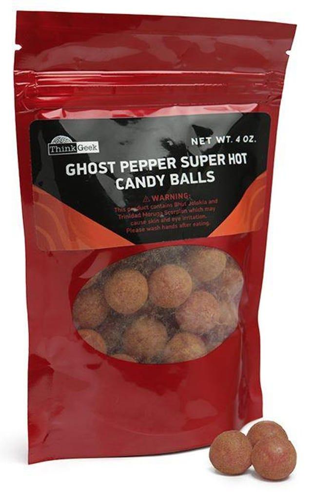 Ghost Pepper Balls, $10