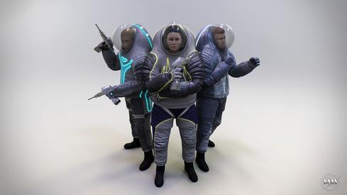 NASA's Next Spacesuit: Mars Fashion