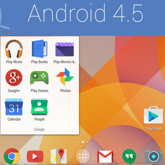 Android 4.5Google I/O also would be good showcase for Android 4.5, which is said to run on the rumored Nexus 8. Tech sites An