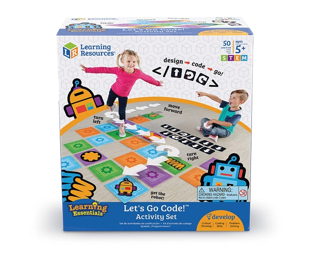Let's Go Code Activity Set    Price: $26.71  Ages: 5-10 years old