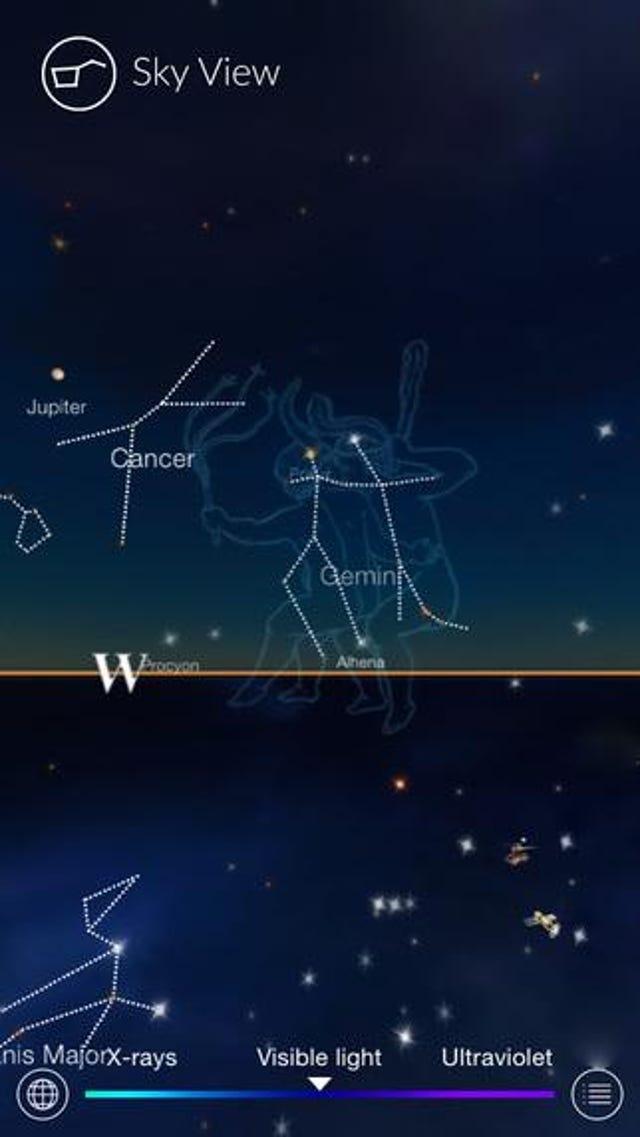 Night Sky Improves Digital Stargazing
