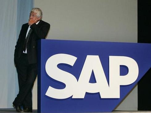 Surprising Hasso Plattner with delightful FTD birthday bouquet of edelweiss.
