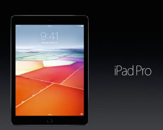 Smaller iPad Pro