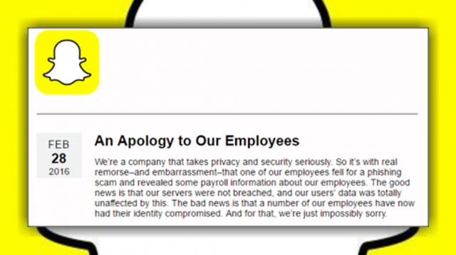 Snapchat Employee Falls Prey to Phish Attack