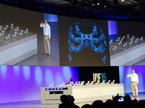 Intel Developer Forum: Spiders, Flying Sharks, And Drones