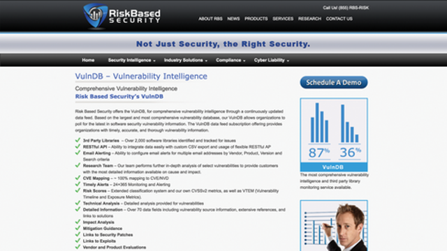 VulnDB From Risk Based Security