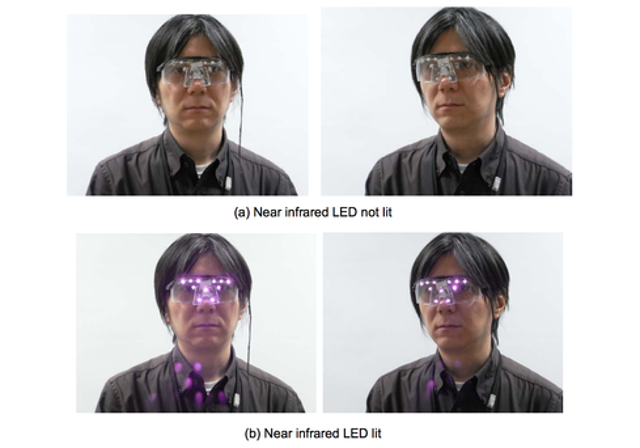 Researchers at Tokyo's National Institute of Informatics have developed privacy goggles designed to hinder facial recognition