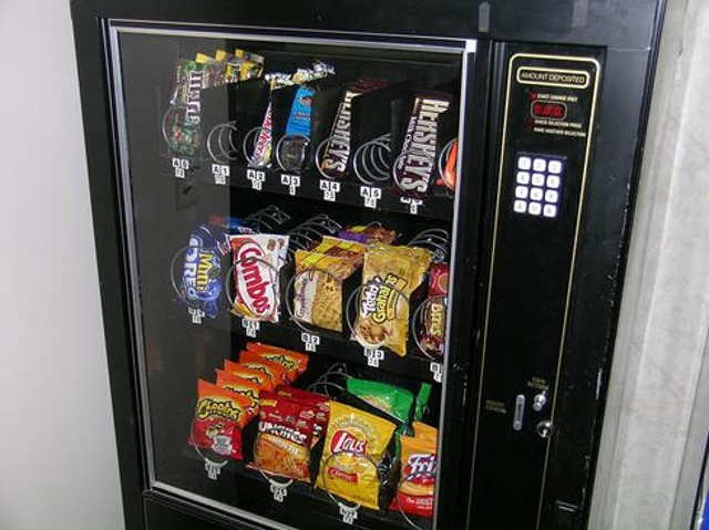 Time-Waster: Vending Machines