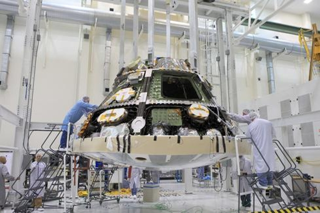 NASA and Lockheed Martin reached a major milestone last month by completing the installation of the heat shield on Orion in p