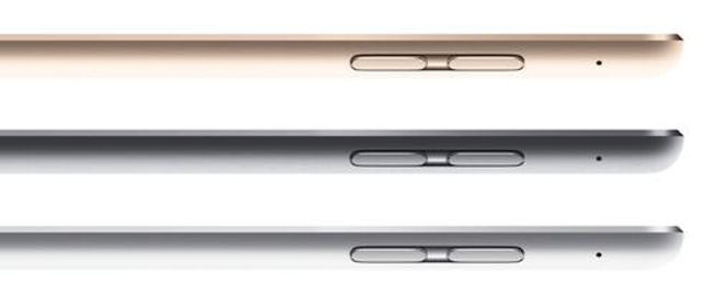 A single color scheme for all iOS devicesApple's new iPads now come in the same three color options as iPhones: silver, space