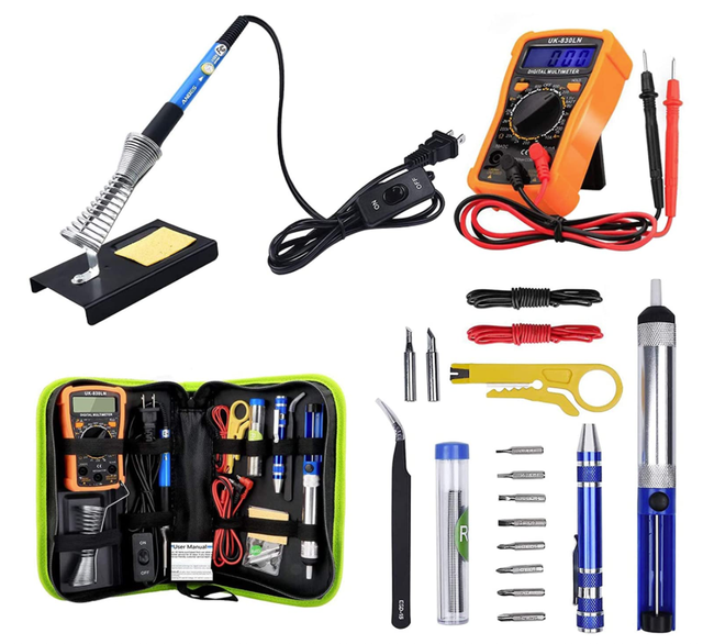 Beginner Soldering and Hardware Tools Kit