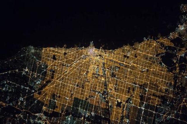 ISS Captures Spectacular Night Image Of Chicago