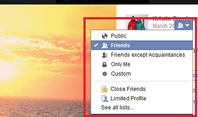Change the privacy settings of your old cover photosYour current profile photo and all your cover photos traditionally have b