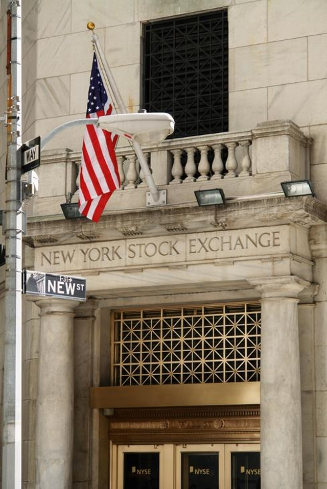 The New York Stock Exchange Grinds To A Halt