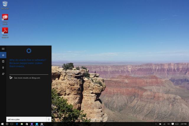 Talking To Cortana