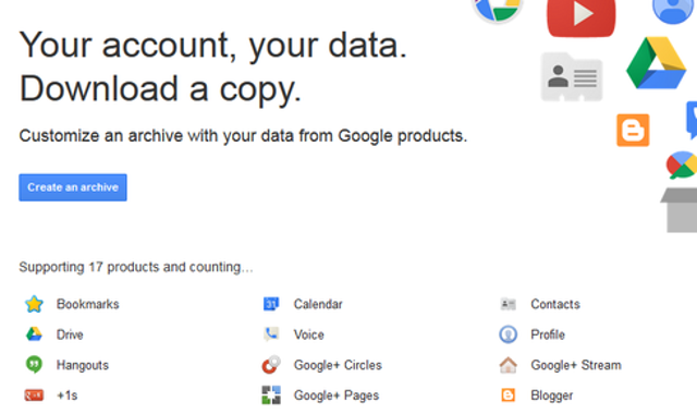 Export Gmail and Calendar dataIf you have decided to move on from your Google account or simply want a backup of your informa