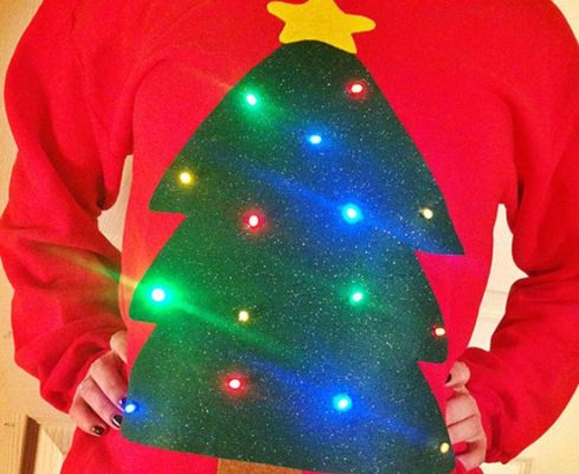 Blinking lights Everyone knows Christmas is the season of lights. But can we please limit them to trees and houses? As a gen