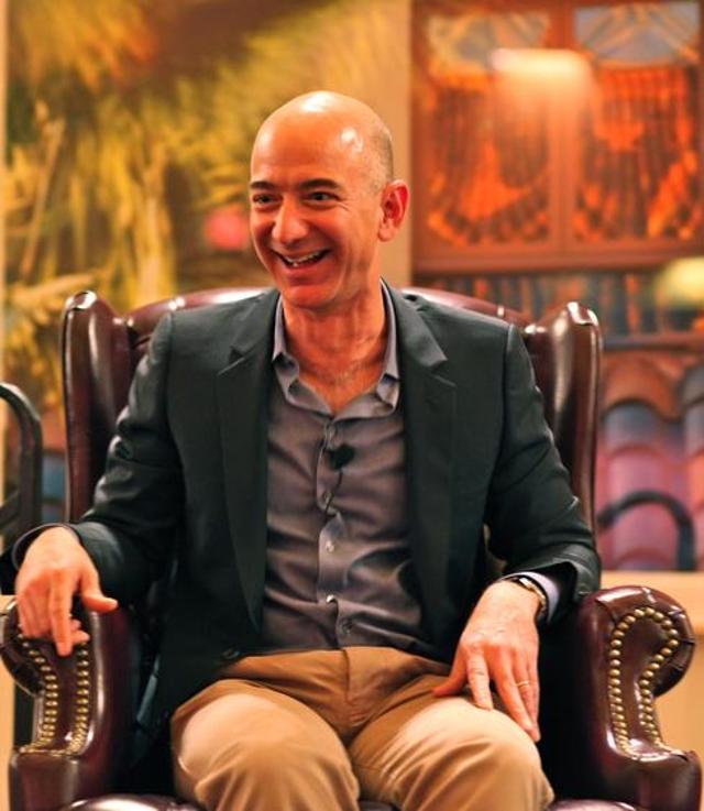8. Jeff Bezos, Amazon Founder And CEO