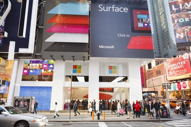 Microsoft Is Having A Big Coming Out Party