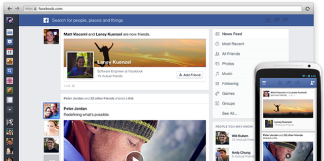 2. News feed filters