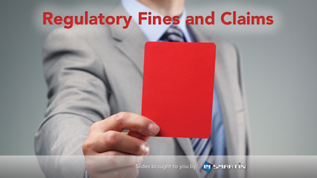 Regulatory Fines and Claims
