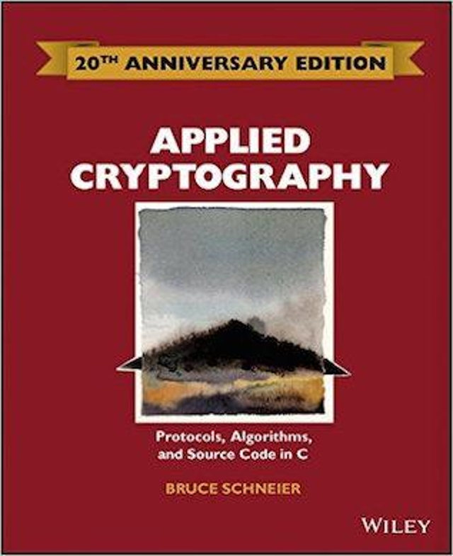 Applied Cryptography: Protocols, Algorithms and Source Code in C